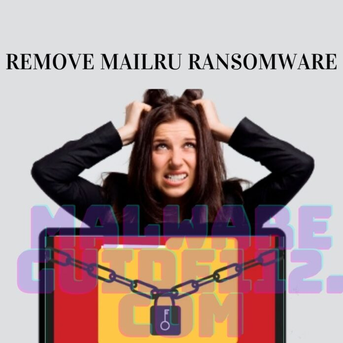 Remove MailRu Ransomware