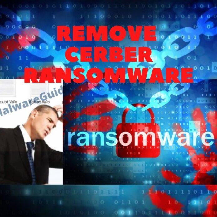 Remove Cerber Ransomware
