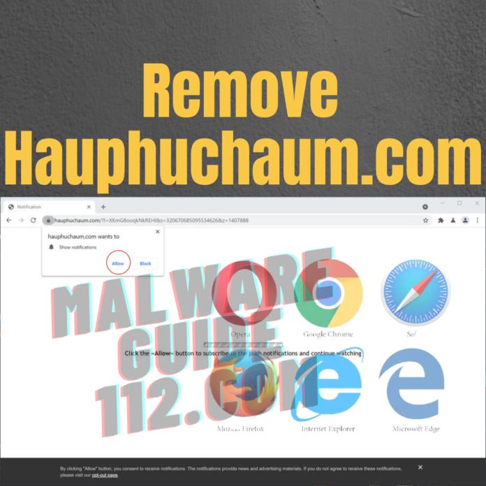 Remove Hauphuchaum.com