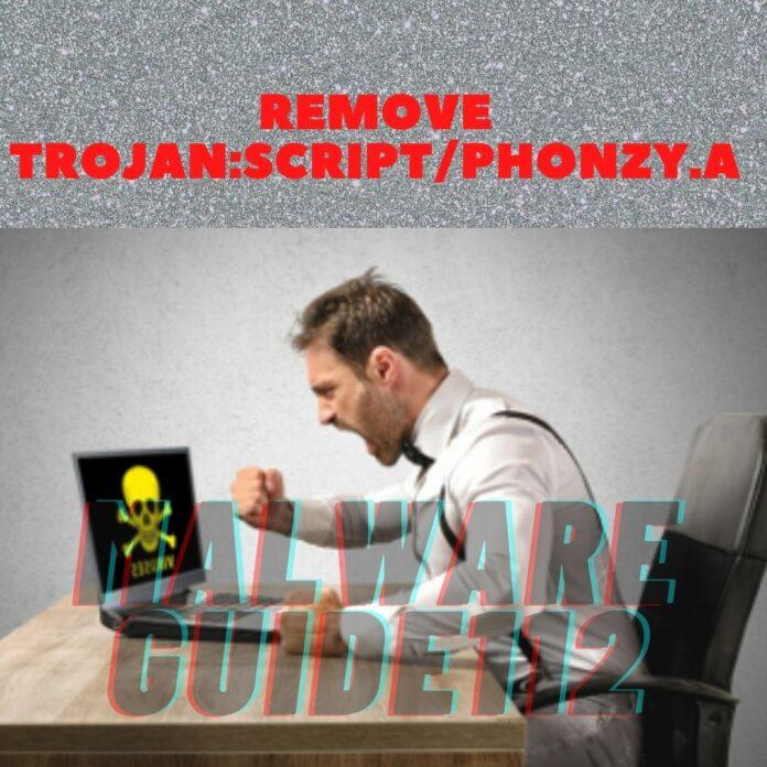 Remove TrojanScriptPhonzyA
