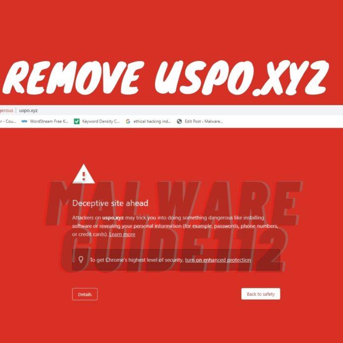 Remove Uspo.xyz
