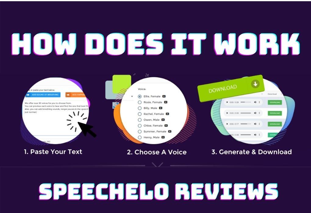 Speechelo working