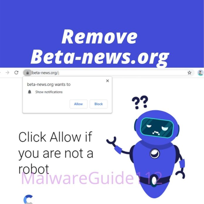 Remove Beta-news.org