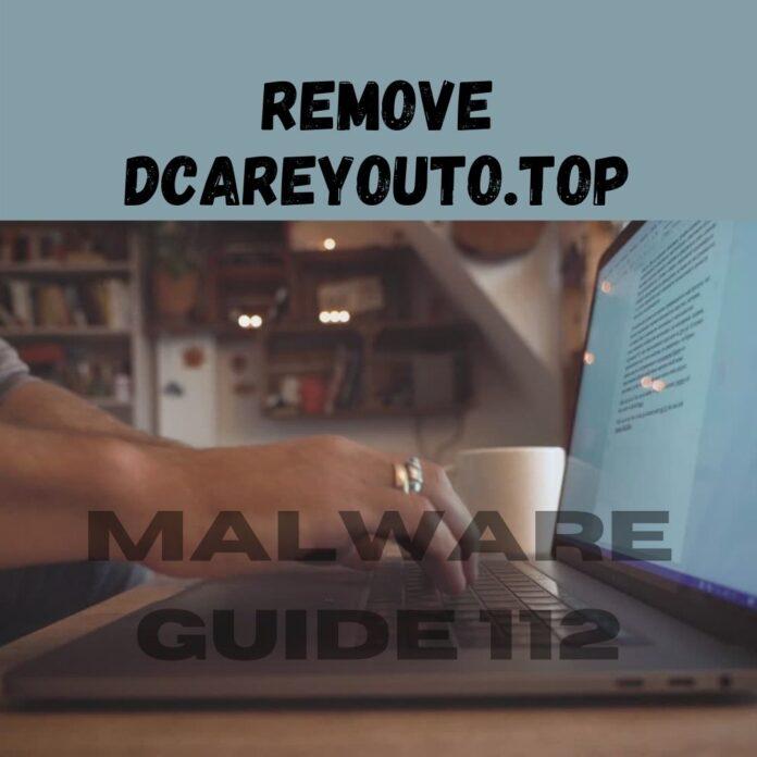 Remove Dcareyouto.top