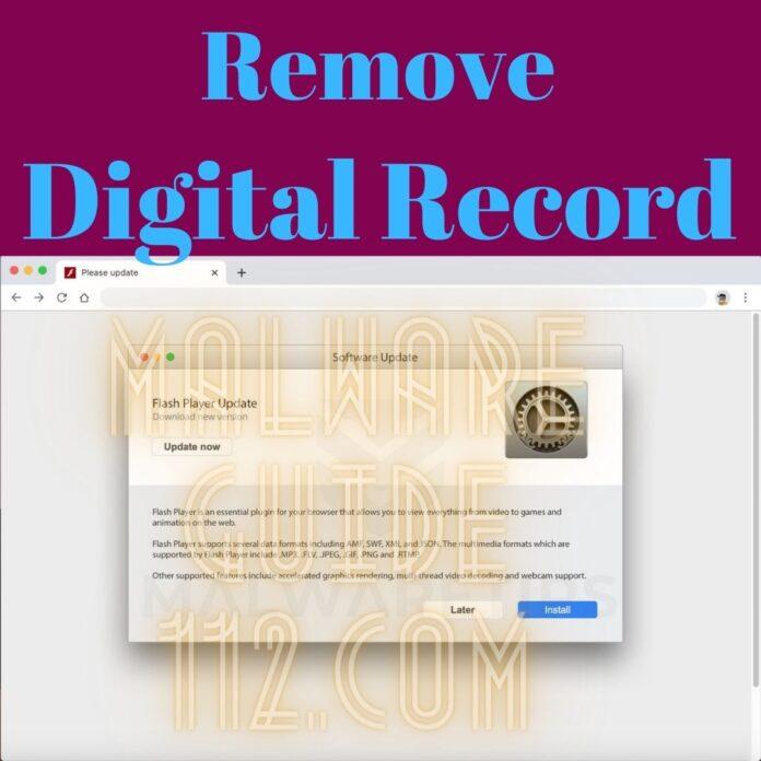 Remove Digital Record