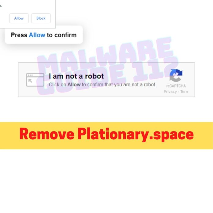 Remove Plationary.space