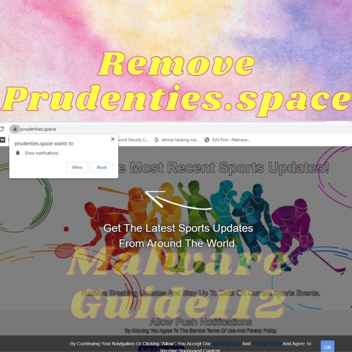 Remove Prudenties.space