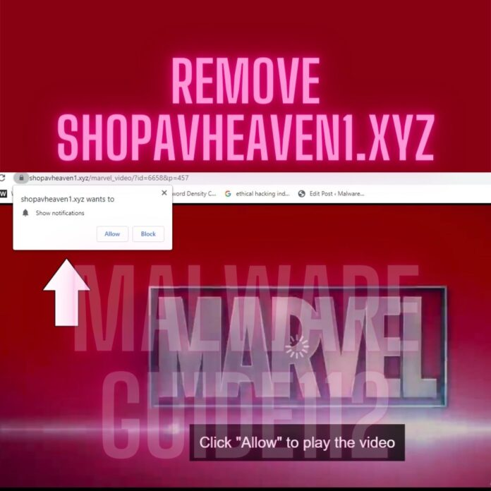 Remove Shopavheaven1.xyz