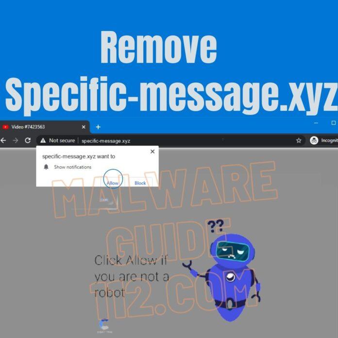 Remove Specific-message.xyz