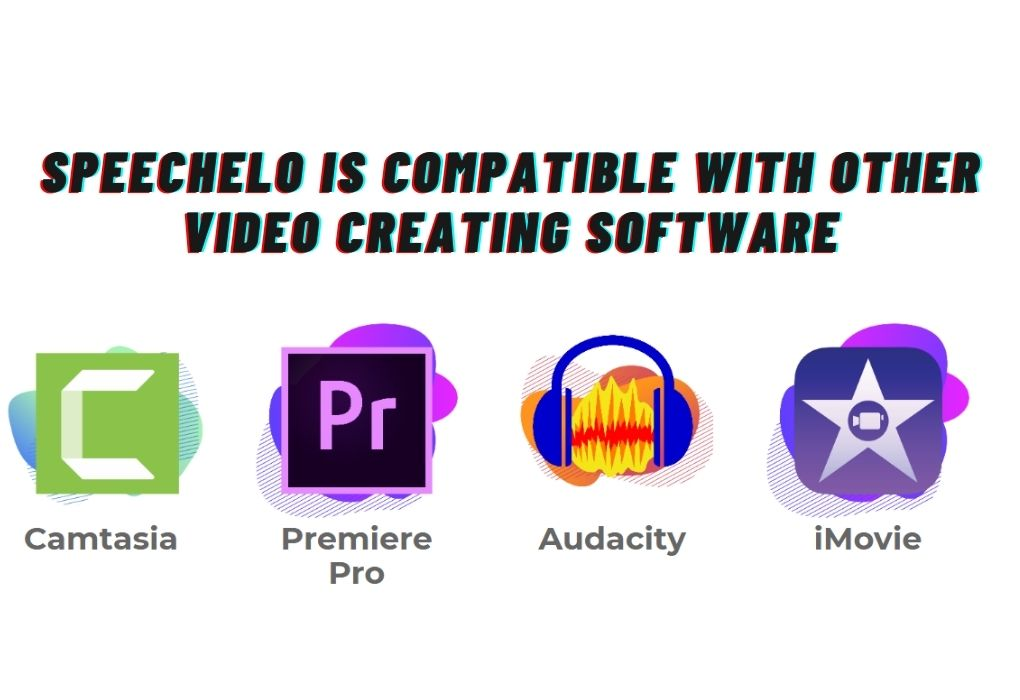 Speechelo is compatible with other software