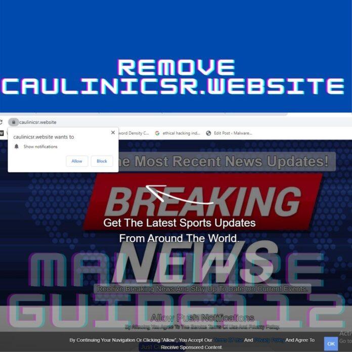 remove Caulinicsr.website