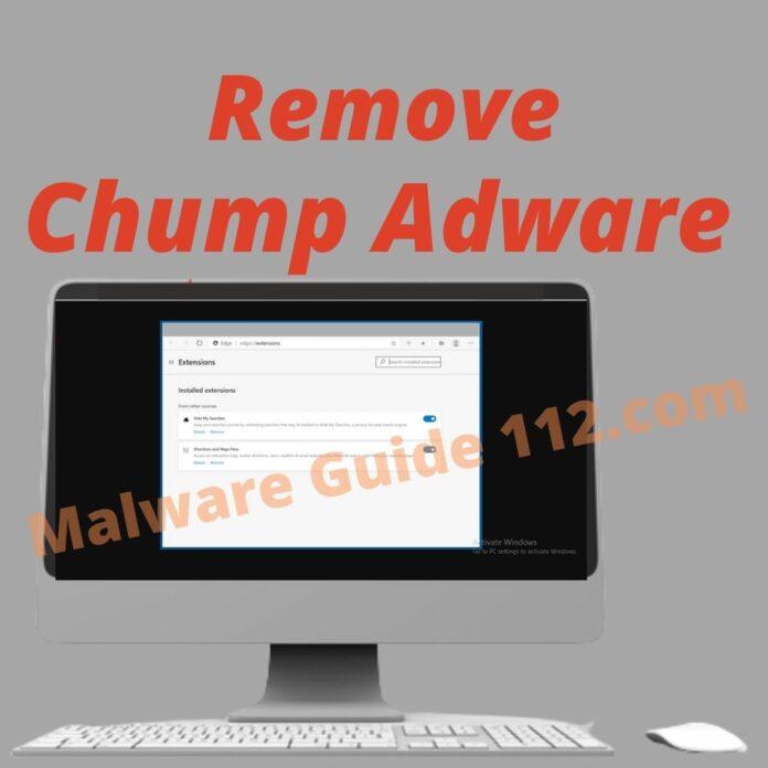 Remove Chump Adware