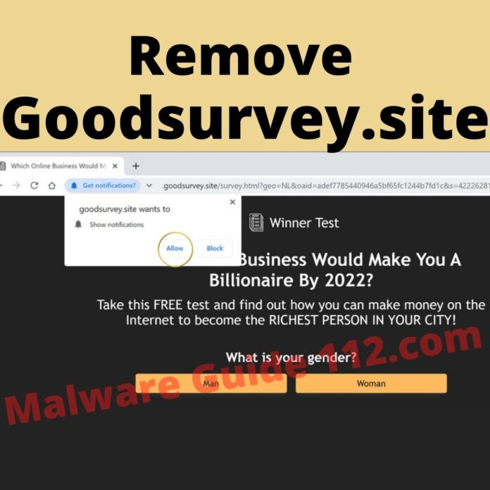 Remove Goodsurvey.site