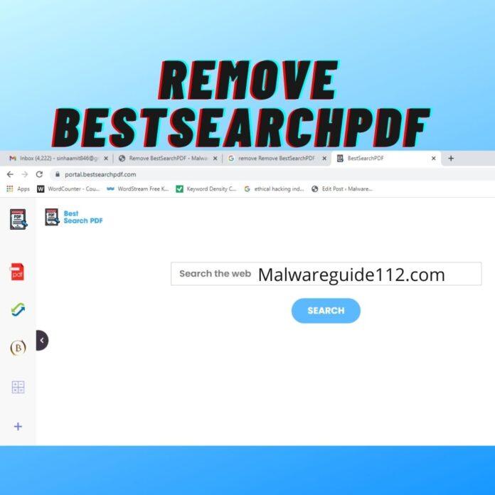 Remove BestSearchPDF