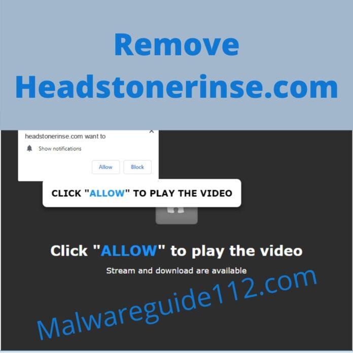 Remove Headstonerinse.com