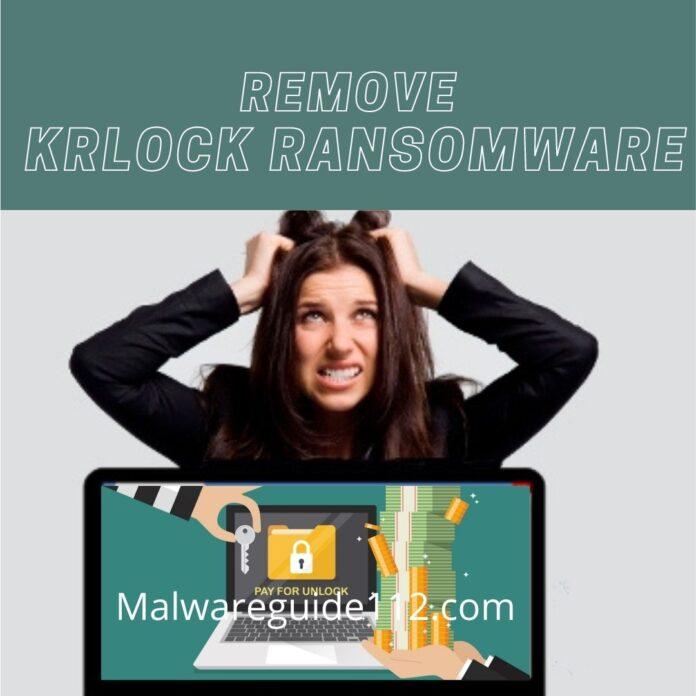 Remove KRlock Ransomware