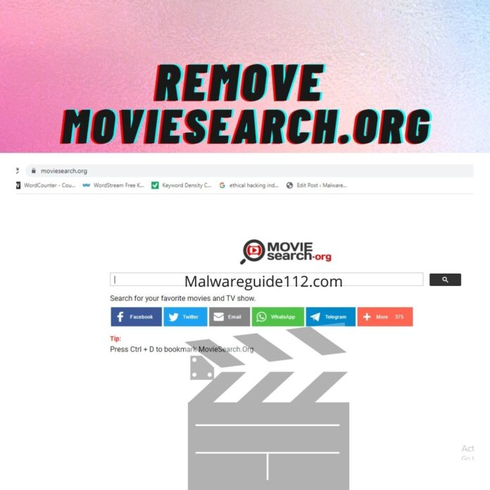 Remove Moviesearch.org