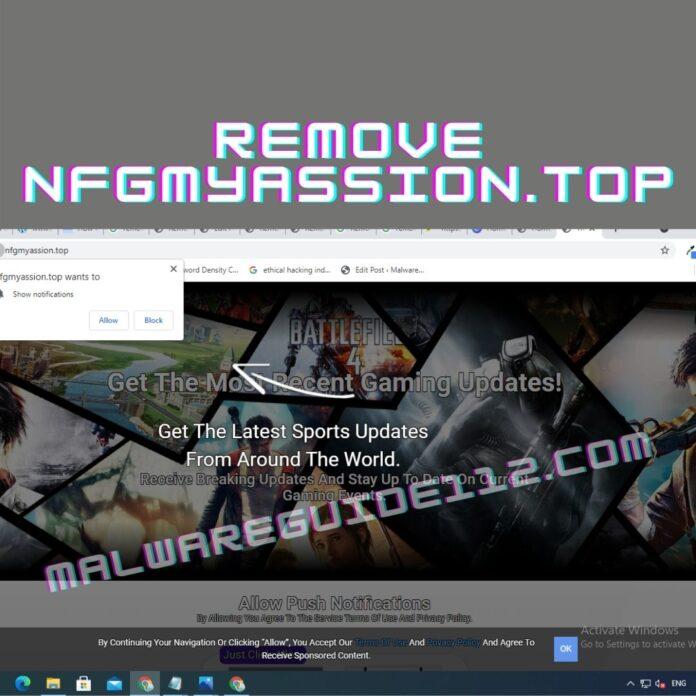 Remove Nfgmyassion.top