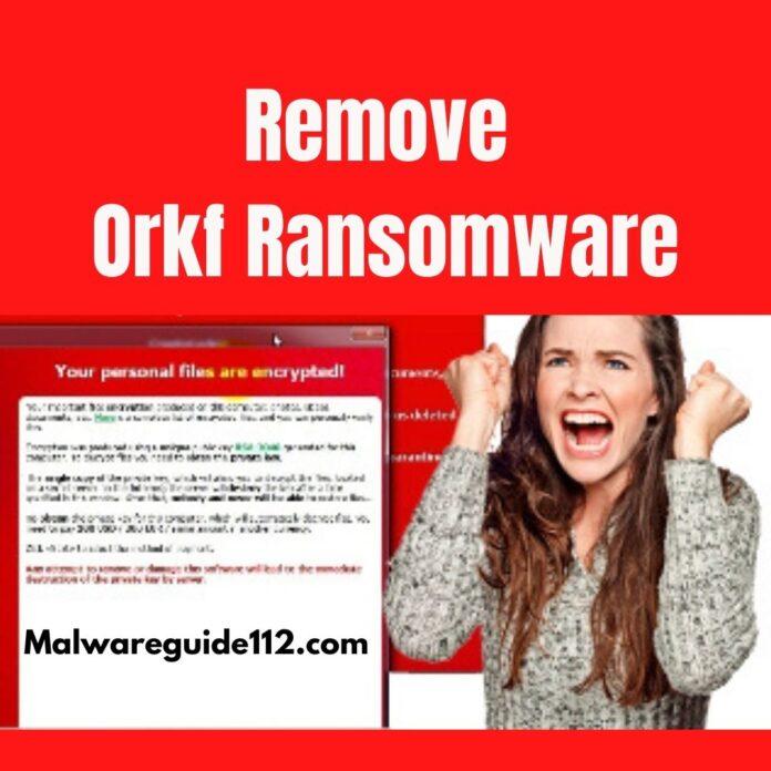 Remove Orkf Ransomware