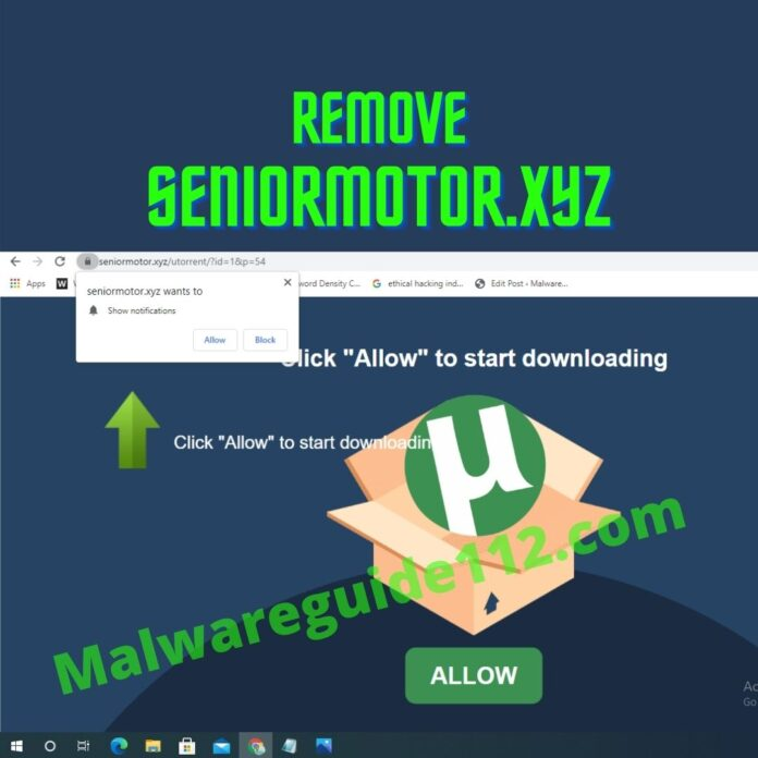 Remove Seniormotor.xyz