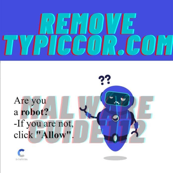 Remove Typiccor.com