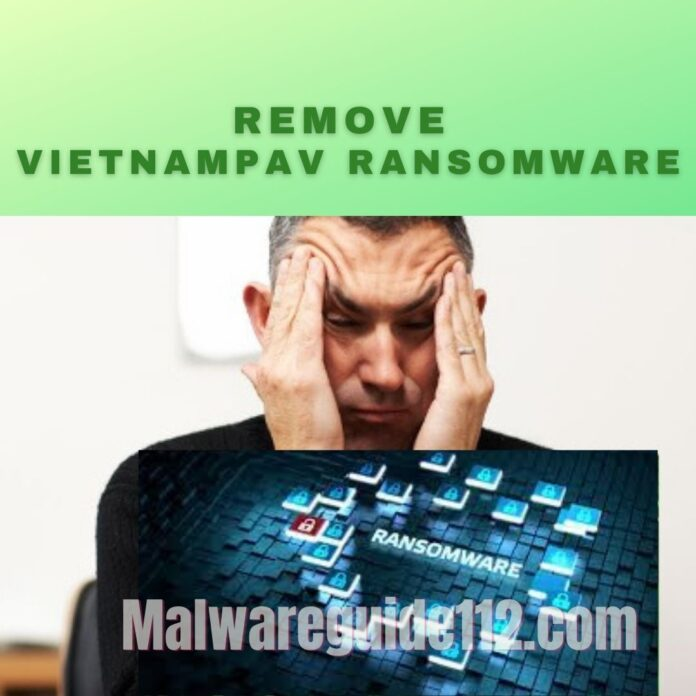 Remove VietnamPav Ransomware