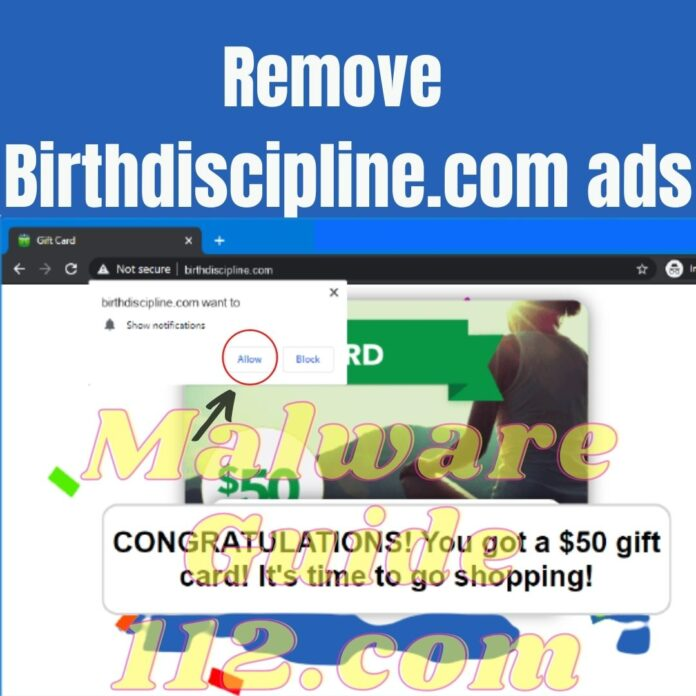 Remove Birthdiscipline.com ads