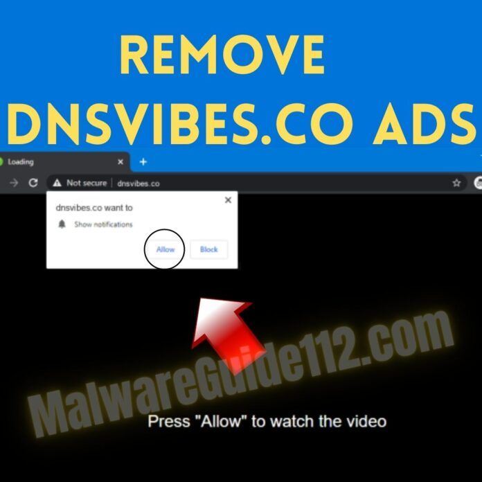Remove Dnsvibes.co Ads
