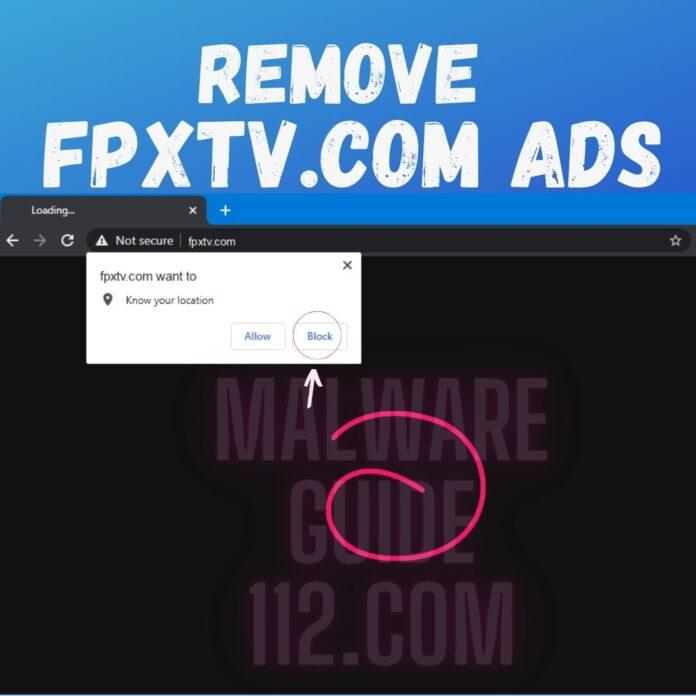 Remove Fpxtv.com Ads
