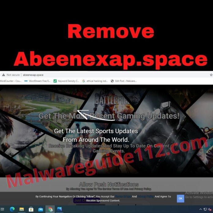 Remove Abeenexap.space