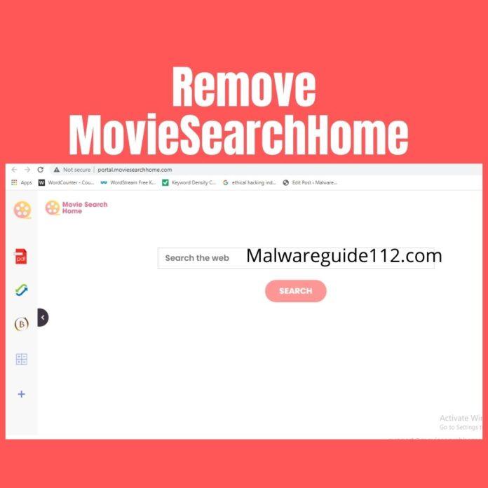 Remove MovieSearchHome