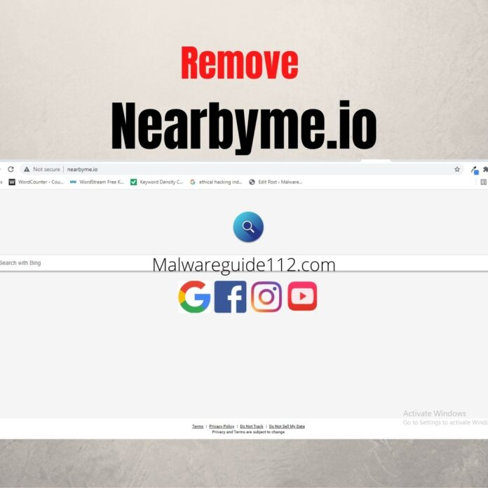 Remove Nearbyme.io