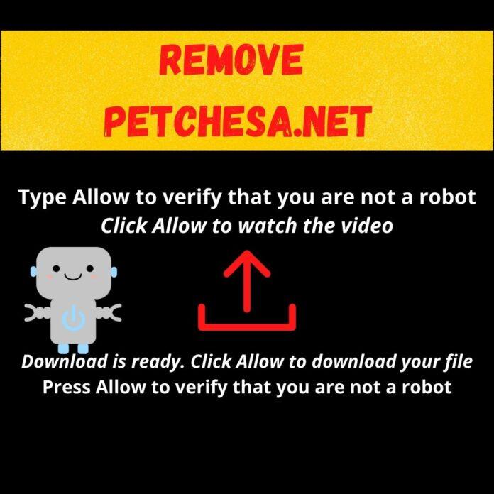 Remove Petchesa.net