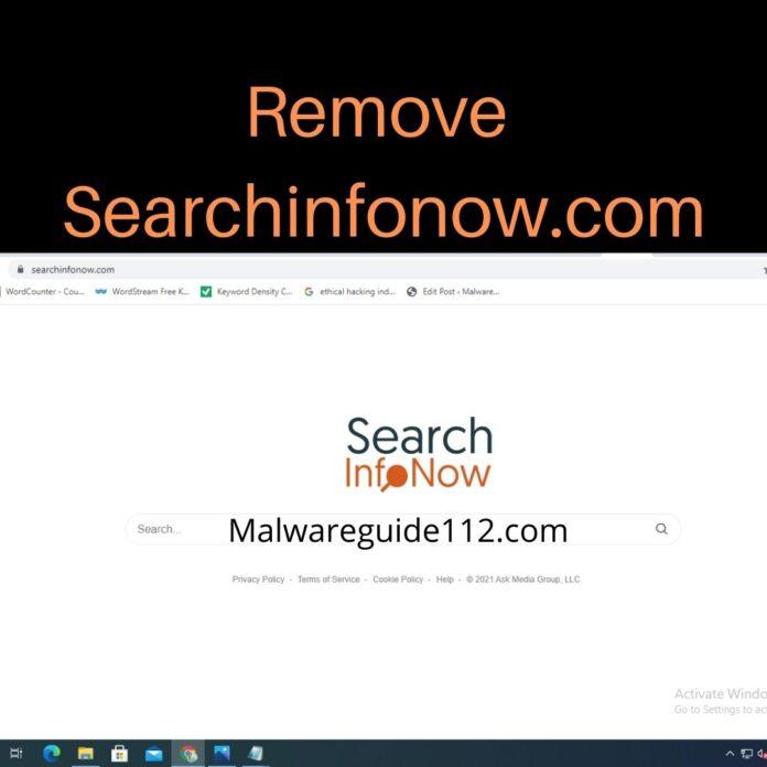 Remove Searchinfonow.com
