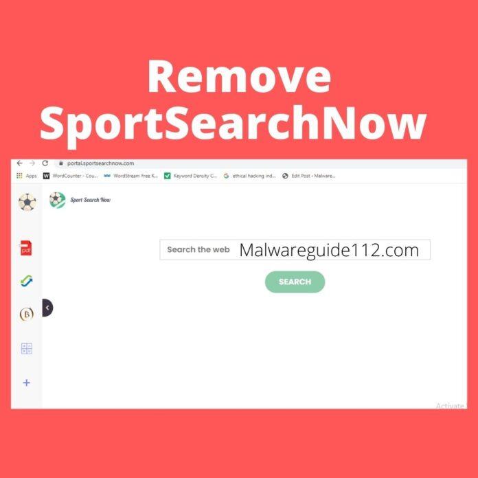 Remove SportSearchNow