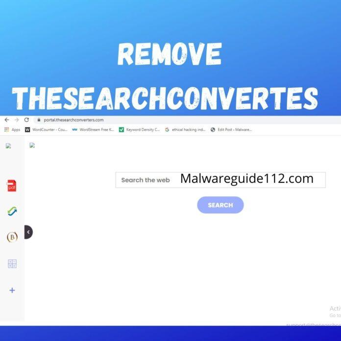 Remove TheSearchConvertes