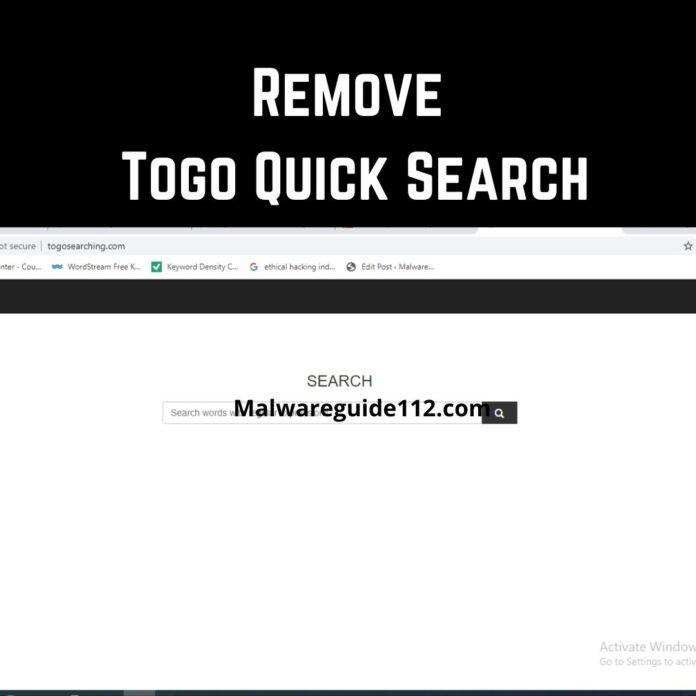 Remove Togo Quick Search