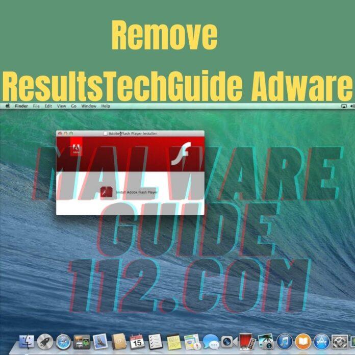 Remove ResultsTechGuide Adware