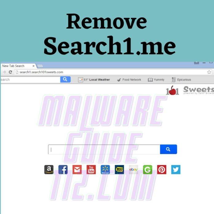 Remove Search1.me