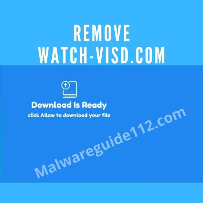 Remove Watch-visd.com